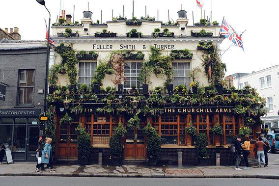 De Churchill Arms pub, Notting Hill, Londen