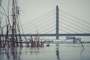 Molenbrug over de IJssel bij Kampen van