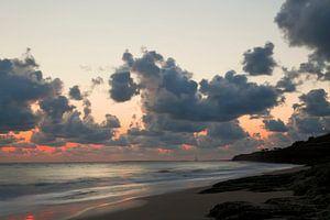 Zonsondergang bij Palais sur Mer