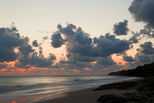 Zonsondergang bij Palais sur Mer van