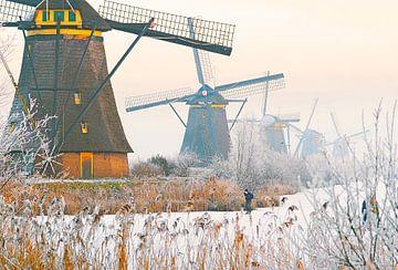 Kinderdijk Mills von Dalex Photography