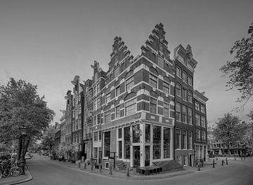 Die schönsten Grachtenhäuser der Brouwersgracht in Amsterdam von Foto Amsterdam / Peter Bartelings