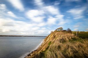 Holnis Kliff im Wind