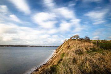 Holnis Kliff im Wind von Matthias Nolde