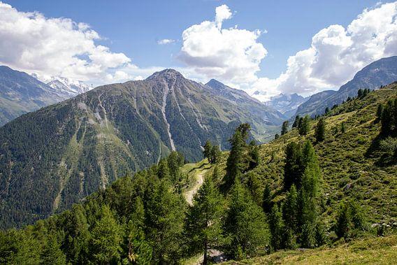 Die Berge bei Grimentz