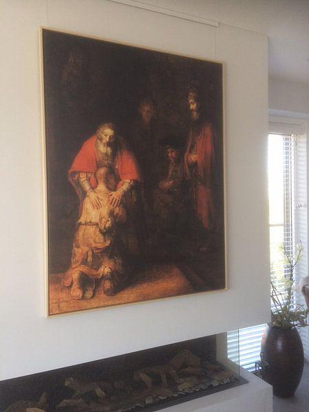 Kundenfoto: Rückkehr des verlorenen Sohnes, Rembrandt van Rijn