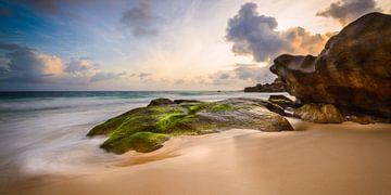 Coucher de soleil aux Seychelles sur Denis Feiner
