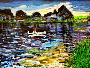 Das weiße Kanu von Eberhard Schmidt-Dranske