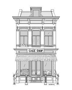 Cake Shop van Zoë Hoetmer