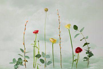 Blumenstillleben von Joske Kempink