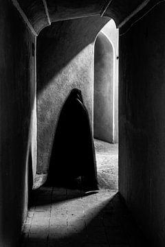 Muslimische Frau in Schloss Rayen von Photolovers reisfotografie