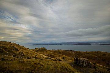 Uitzicht in Schotland van Guus van Mieghem