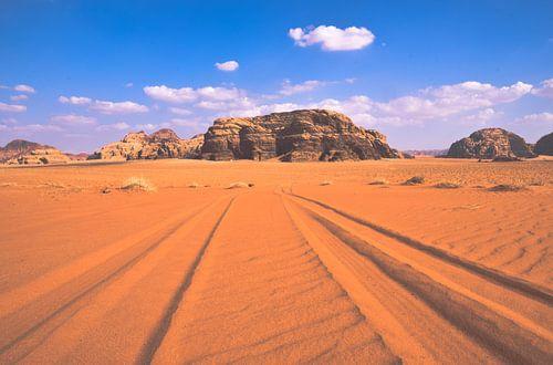 Wadi Rum van Jeroen Bussers