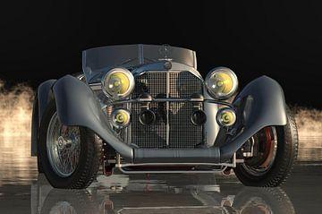 Mercedes - Benz 710 Super Sport 1930 van Jan Keteleer
