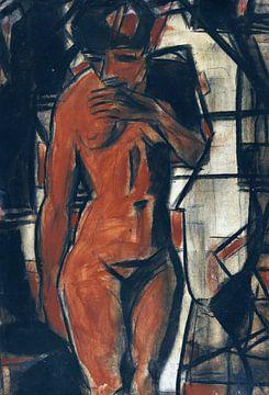 Weiblicher Akt, Stehend, Christian Rohlfs, Um 1925 von Atelier Liesjes