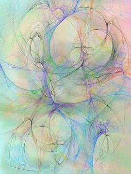 Gesluierd 2 Blauw van Claudia Gründler