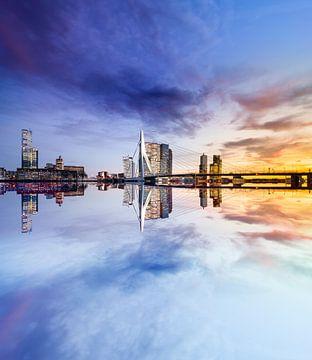 Rotterdam reflectie van Jeroen Mikkers