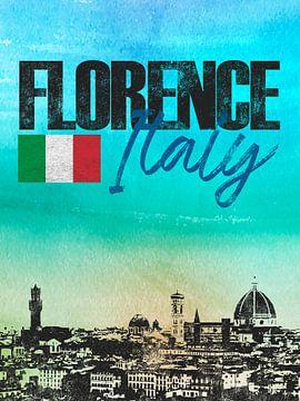 Florenz Italien von Printed Artings