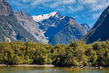 Milford Sound, Fiordland, Nieuw Zeeland van Rietje Bulthuis