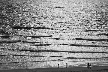 Einen Hauch von frischer Luft an der Küste bekommen von Zeeland op Foto