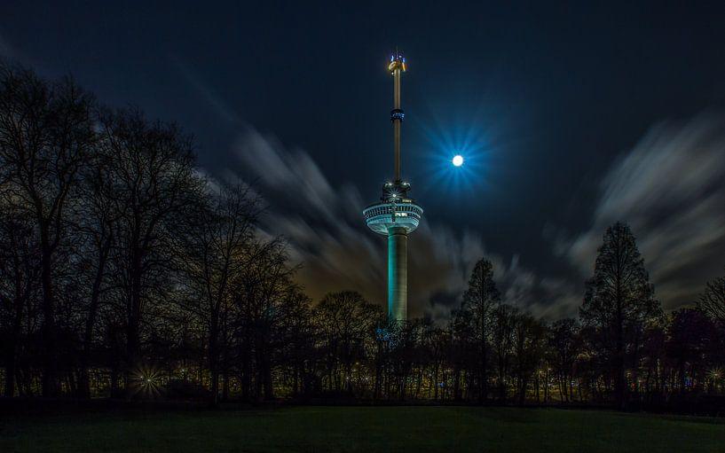 De Euromast in Rotterdam van MS Fotografie | Marc van der Stelt