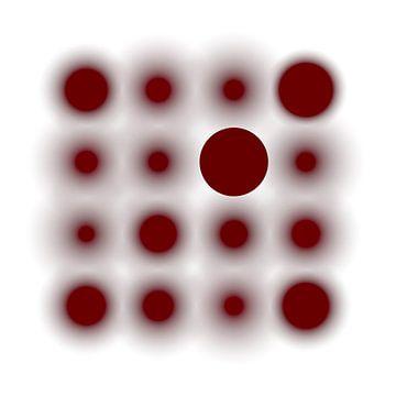 Gefocust op rood van Jörg Hausmann