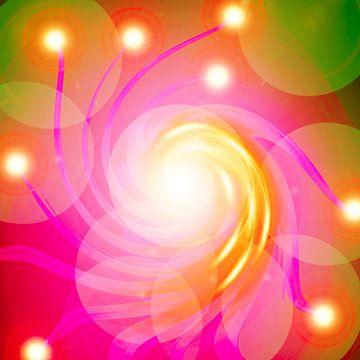 Die Rosa Energie-Spirale van Ramon Labusch