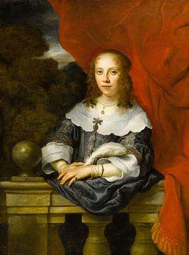 Porträt einer Dame (Margaretha van Raephorst?), Gouverneur Flinck