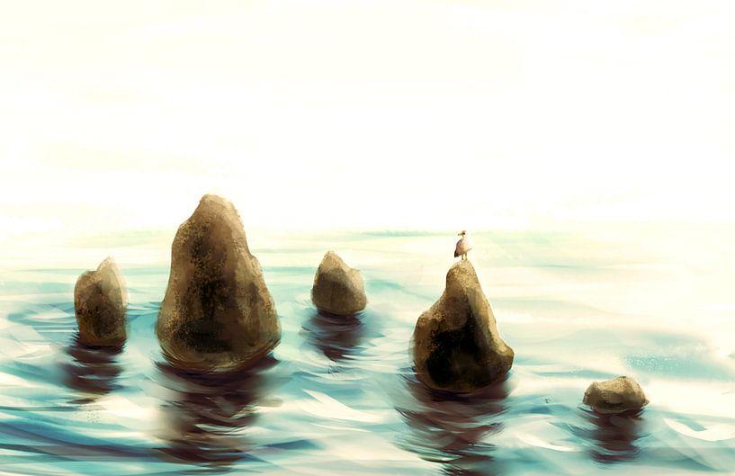 Zee stenen van Petra van Berkum