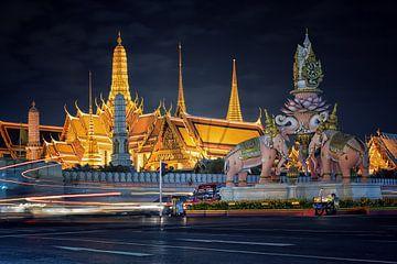 Le Palais royal de nuit sur Manjik Pictures