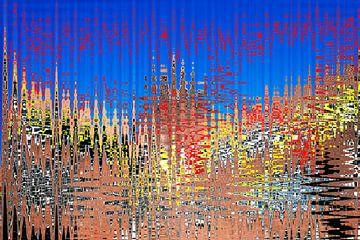 explosie (explosion) van Johan van Bommel
