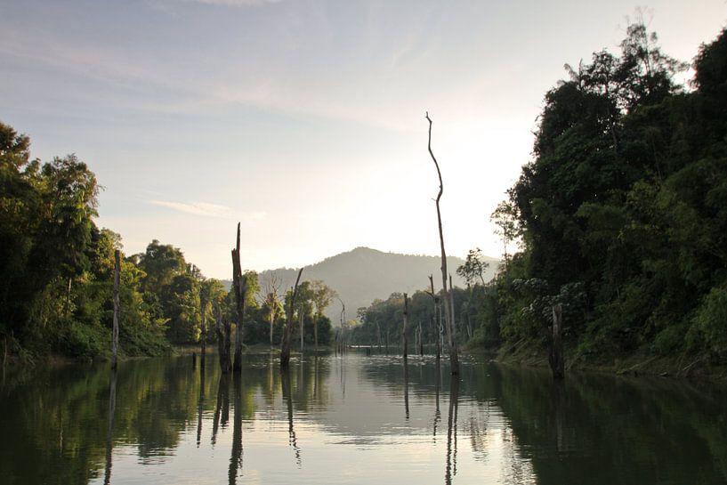 Chiao Lan See im Khao Sok Nationalpark von Levent Weber