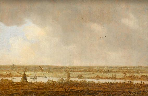 Polderlandschap, Jan van Goyen