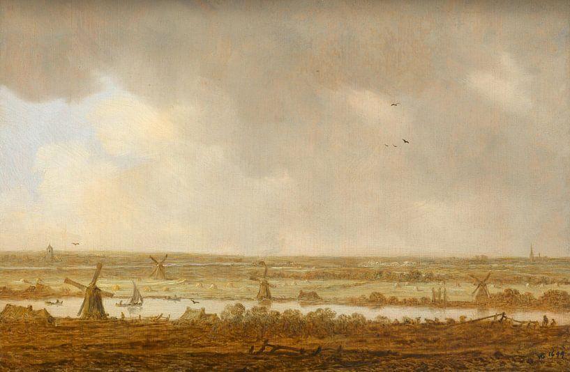 Polderlandschap, Jan van Goyen van Meesterlijcke Meesters