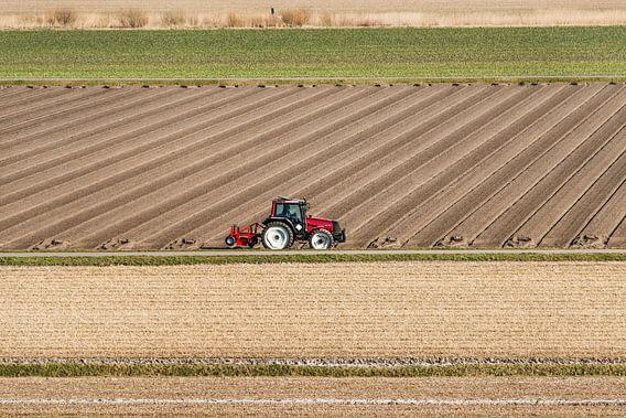 Landbouw en vlakverdeling van Harrie Muis