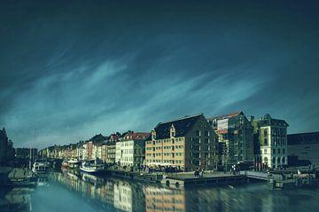 Nyhavn avec réflexion sur Elianne van Turennout