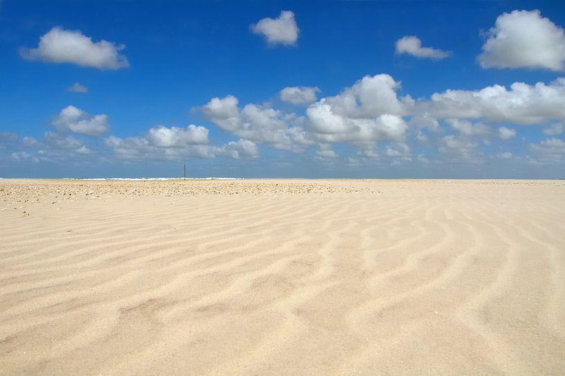 Patronen op het strand van Sjoerd van der Wal