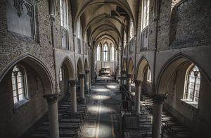 Blue Christ Church von Joren Mus