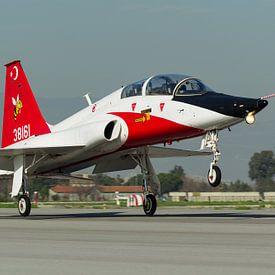 Turkse Luchtmacht T-38 Talon van Dirk Jan de Ridder