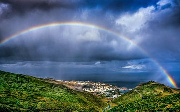 Regenboog von Harrie Muis