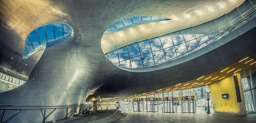 Arnhem Central Station von Above The Grid