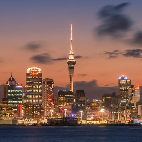 Auckland by Night von Henk Meijer Photography