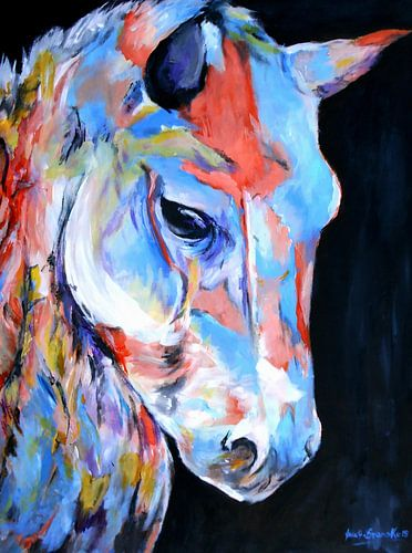 Graceful Horse von Eberhard Schmidt-Dranske