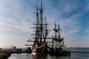 Batavia V.O.C. schip te Lelystad van Brian Morgan