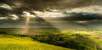 Toscane Val d'Orcia - Belvédère landhuis van Damien Franscoise