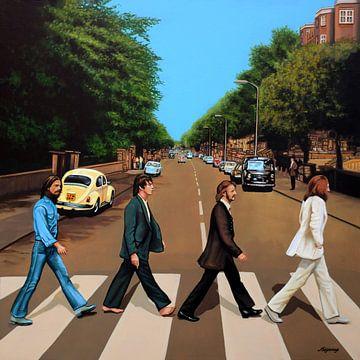 The Beatles - Malerei von Paul Meijering