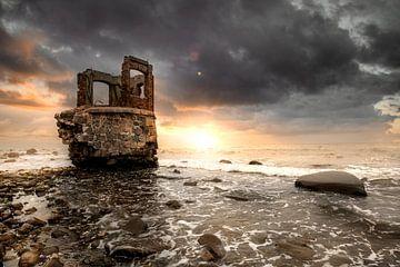 Ruïne van Kaap Arkona van Sergej Nickel