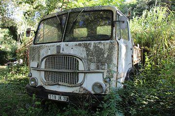 Fiat vrachtwagen in Frankrijk van Angelique van 't Riet