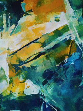 Abstrakte Komposition 1210 von Angel Estevez