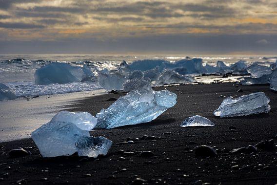 Diamanten  op het strand